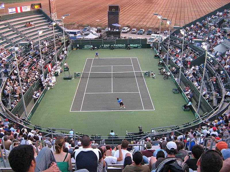 "Le Canada Stadium : ""temple"" du tennis en Israël"