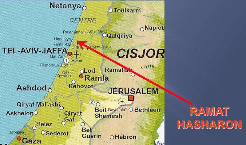 Géographie Ramat Hasharon