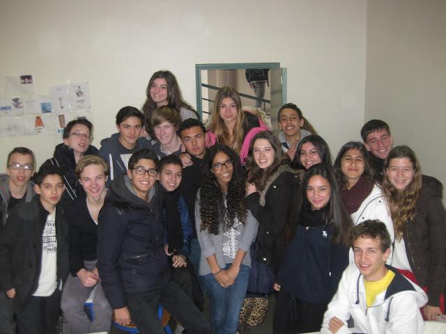 Les jeunes au lycée Teilhard de Chardin