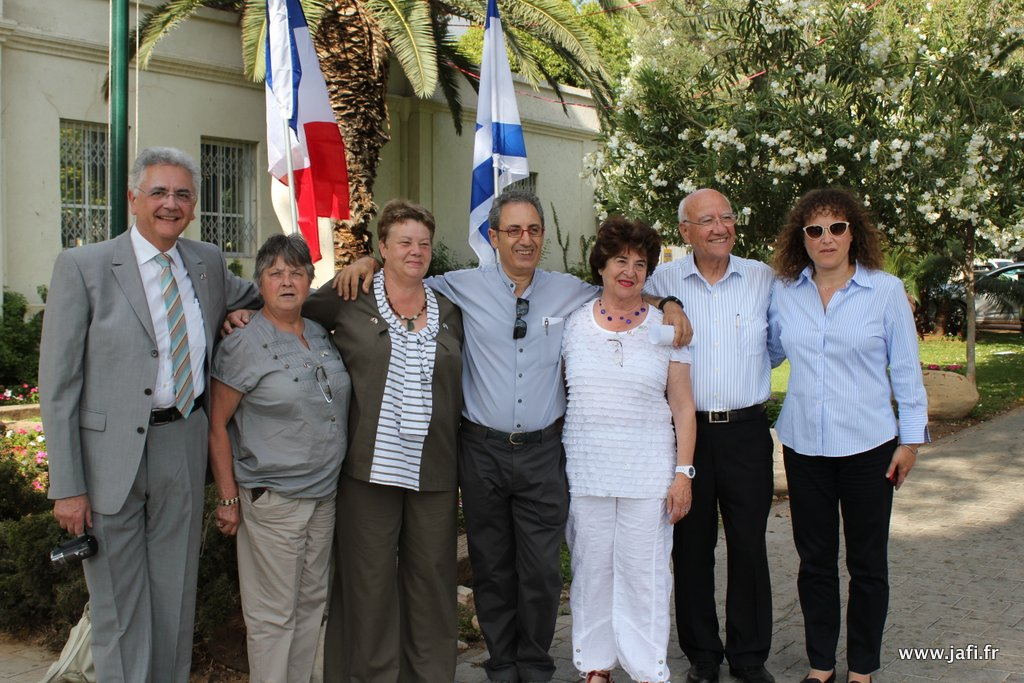 Devant la Mairie de Ramat Hasharon
