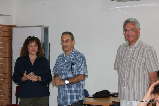 Shira Avin, David Menashé et Denis Perez