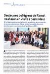 Article dans Saint-Maur Infos